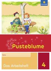 Pusteblume. Das Sprachbuch, Allgemeine Ausgabe 2015: 4. Schuljahr, Das Arbeitsheft