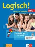 Logisch! Neu - Deutsch für Jugendliche: Kursbuch; Bd.A1.2 - Tl.2