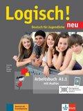 Logisch! Neu - Deutsch für Jugendliche: Arbeitsbuch; A1.1 - Tl.1