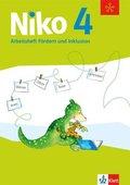 Niko, Ausgabe ab 2014: 4. Schuljahr, Arbeitsheft Fördern und Inklusion