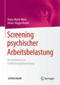 Screening psychischer Arbeitsbelastung