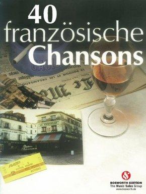 40 französische Chansons für Klavier und Gesang