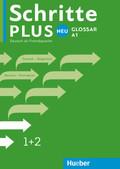 Schritte plus Neu - Deutsch als Fremdsprache / Deutsch als Zweitsprache: Glossar Deutsch-Bulgarisch; Bd.1+2