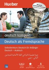 deutsch kompakt, Neuausgabe: Arabische Ausgabe: 2 Bücher + 1 MP3-CD