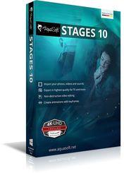 AquaSoft Stages 10, 1 DVD-Rom