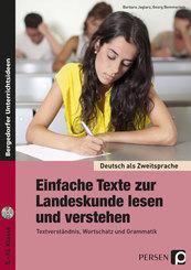 Einfache Texte zur Landeskunde lesen und verstehen, m. 1 CD-ROM
