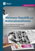 Weimarer Republik und Nationalsozialismus, m. CD-ROM