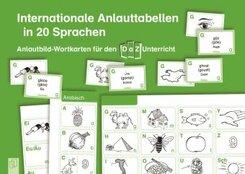 Internationale Anlauttabellen in 20 Sprachen