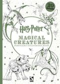 Harry Potter Magical Creatures Postcard Colouring Book