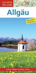 GO VISTA: Reiseführer Allgäu, m. 1 Karte