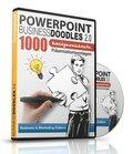 PowerPoint BusinessDoodles 2.0, 1000 Handgezeichnete Präsentationsvorlagen für PowerPoint (PC & Mac), 1 CD-ROM (Business