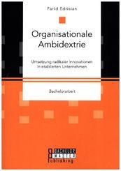 Organisationale Ambidextrie. Umsetzung radikaler Innovationen in etablierten Unternehmen