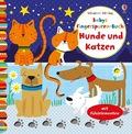 Babys Fingerspuren-Buch: Hunde und Katzen