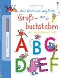 Mein Wisch-und-weg-Buch, Großbuchstaben