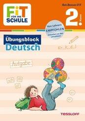 Fit für die Schule: Übungsblock Deutsch 2. Klasse