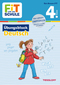 Fit für die Schule: Übungsblock Deutsch 4. Klasse