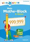 Lernstern: Mein Mathe-Malblock 4. Klasse