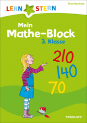 Lernstern: Mein Mathe-Malblock 3. Klasse