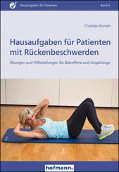 Hausaufgaben für Patienten mit Rückenbeschwerden