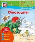 Dinosaurier, Mitmach-Heft - Was ist was junior Mitmachheft