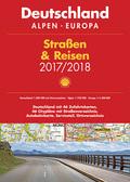 Shell Straßen & Reisen Atlas 2017/18 - Deutschland 1:300.000, Alpen, Europa