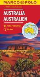 Australia Marco Polo Map