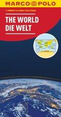 MARCO POLO Karte Die Welt 1:30 000 000 (politisch)