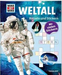 Weltall - Was ist Was, Rätseln und Stickern
