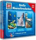 Was ist was Hörspielbox: Große Meeresforscher-Box, 3 Audio-CDs