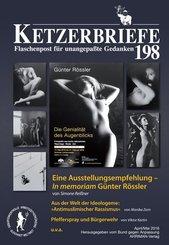Eine Ausstellungsempfehlung in memoriam Günter Rössler