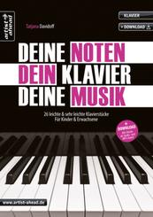 Deine Noten, Dein Klavier, Deine Musik, m. Audio-CD - Bd.1