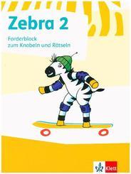 Zebra, Ausgabe ab 2011: 2. Schuljahr, Forderblock zum Knobeln und Rätseln