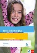 deutsch.kombi plus. Differenzierende Ausgabe ab 2015: 6. Schuljahr, Arbeitsheft