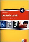 deutsch.punkt, Differenzierende Ausgabe: 8. Klasse, Trainingsheft individuelle Förderung und Inklusion; Bd.4