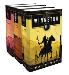 Winnetou I-III, 3 Bände