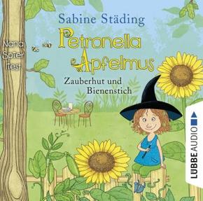 Petronella Apfelmus - Zauberhut und Bienenstich, 2 Audio-CDs