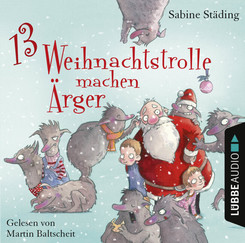 13 Weihnachtstrolle machen Ärger, 2 Audio-CDs