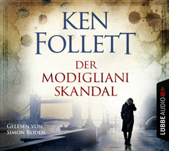Der Modigliani-Skandal, 4 Audio-CDs