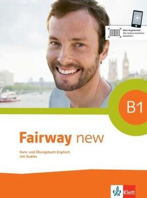 Fairway new: Kurs- und Übungsbuch, m. 2 Audio-CDs