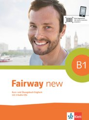 Fairway new: Kurs- und Übungsbuch, m. 2 Audio-CDs