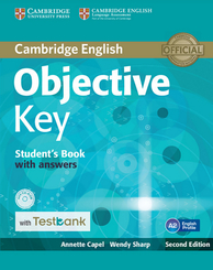 Objective Key: Student's Book with answers, with CD-ROM and Testbank