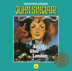 John Sinclair Tonstudio Braun - Angst über London, 1 Audio-CD