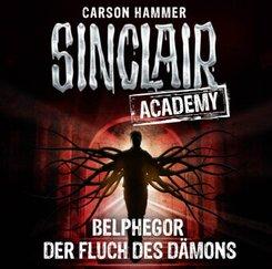 Sinclair Academy - Belphegor - Der Fluch des Dämons, 2 Audio-CDs