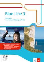 Blue Line. Ausgabe ab 2014: 7. Schuljahr, Workbook m. Audio-CD u. CD-ROM; 3