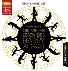 Die vielen Leben des Harry August, 2 MP3-CD