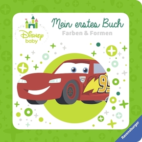 Disney Baby Mein erstes Buch Cars: Farben und Formen