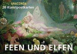 Feen und Elfen, Postkartenbuch