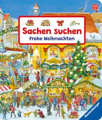 Sachen suchen - Frohe Weihnachten Wimmelbuch