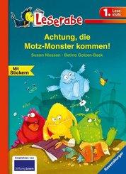 Achtung, die Motz-Monster kommen! - Leserabe 1. Klasse - Erstlesebuch für Kinder ab 6 Jahren