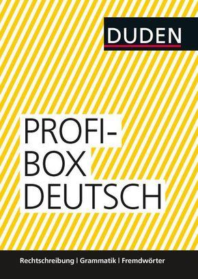 Duden Profibox Deutsch, 3 Bde.